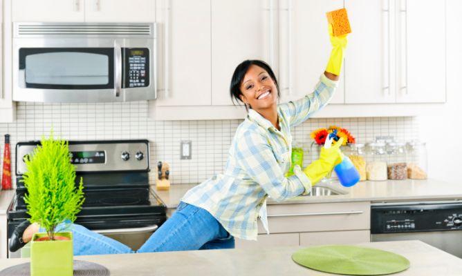 Limpieza r pida de la cocina hogarmania - Imagenes de limpieza de casas ...