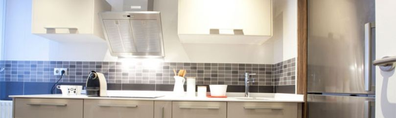 Trabajos de bricolaje para la cocina - Como tapar azulejos para cambiar una cocina sin obras ...