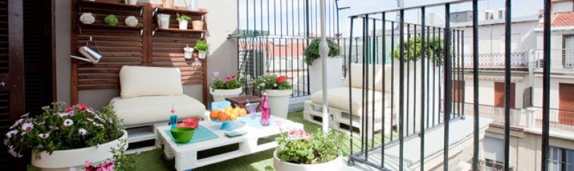 ideas para decorar terraza atico