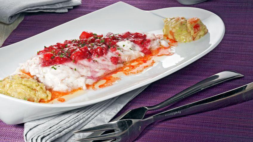 Cocinar Lubina A La Sal | Receta De Lubina A La Sal Con Salsa De Fresas Y Guacamole Eva