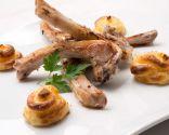 Receta de Chuletillas de cordero con patatas