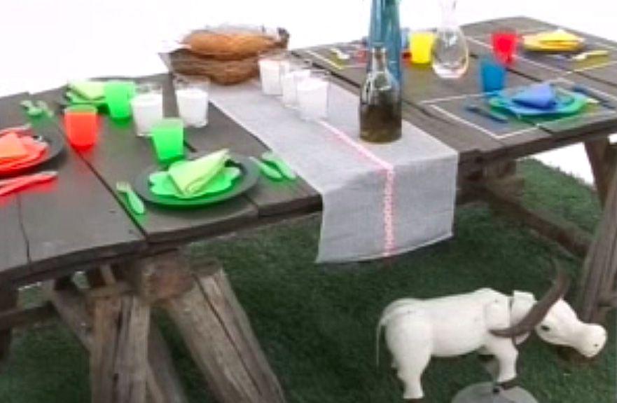 Ideas para decorar una mesa de picnic hogarmania - Mesa para barbacoa ...