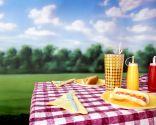 decorar mesa para picnic