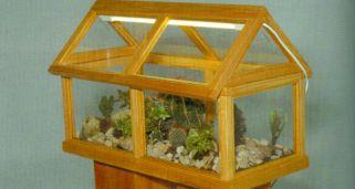 Invernadero construido con ventanas recicladas decogarden - Invernadero casero terraza ...