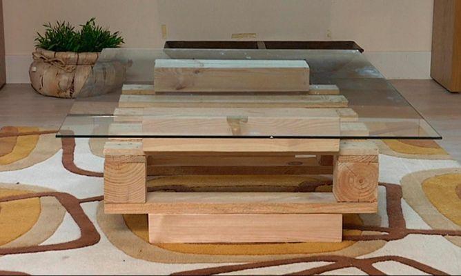 Hacer una mesa con un pal bricoman a - Mesas de pale ...