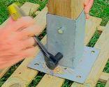 Instalar valla de madera