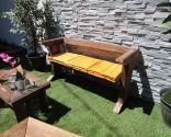 Ideas para hacer un banco para el jardín
