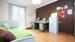 Decorar dormitorio con zona de estudio