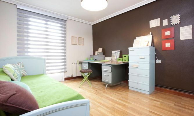 Decorar dormitorio con zona de estudio decogarden - Estudios de decoracion ...