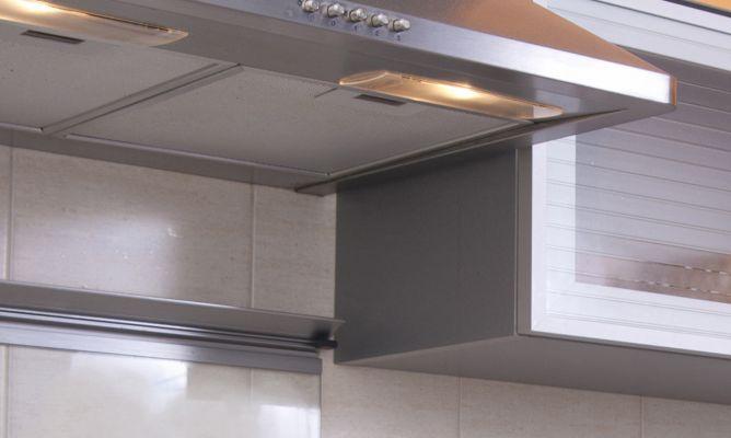 Limpiar filtros de campana extractora hogarmania for Extractor de cocina de pared