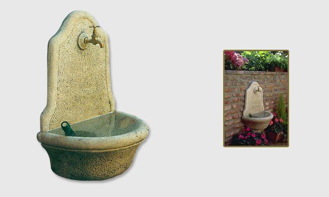 Fuente de piedra artificial bricoman a - Fuentes de piedra artificial ...
