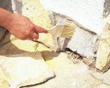 Reparar un zócalo de piedra