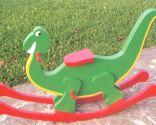 Balancín con forma de dinosaurio