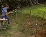 Jardineras escalonadas
