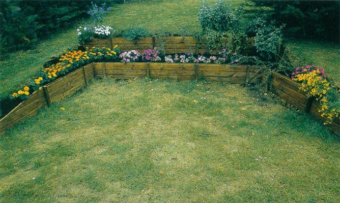 Jardineras escalonadas Bricomana