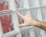 Ventana con bloques de vidrio o pavés