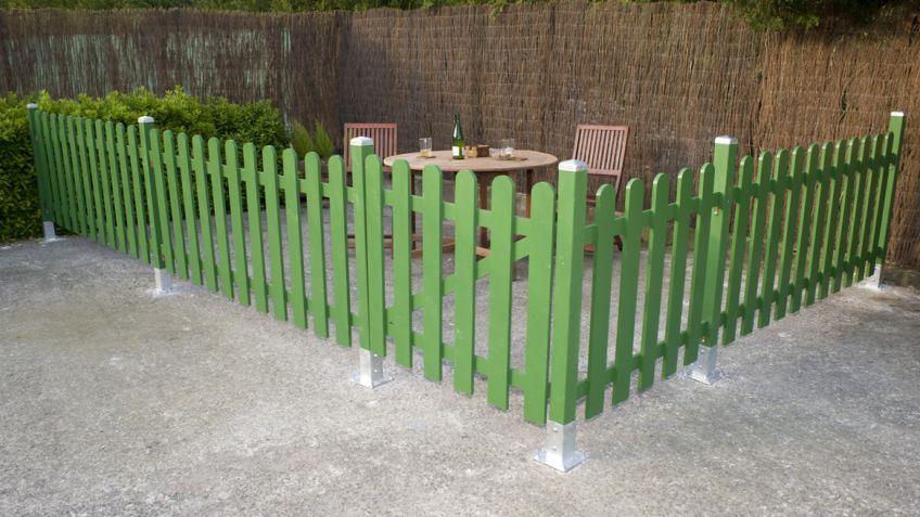 Como Construir Un Cercado De Madera Para El Jardin Bricomania