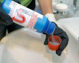 Eliminar obstrucción en sifón de lavabo