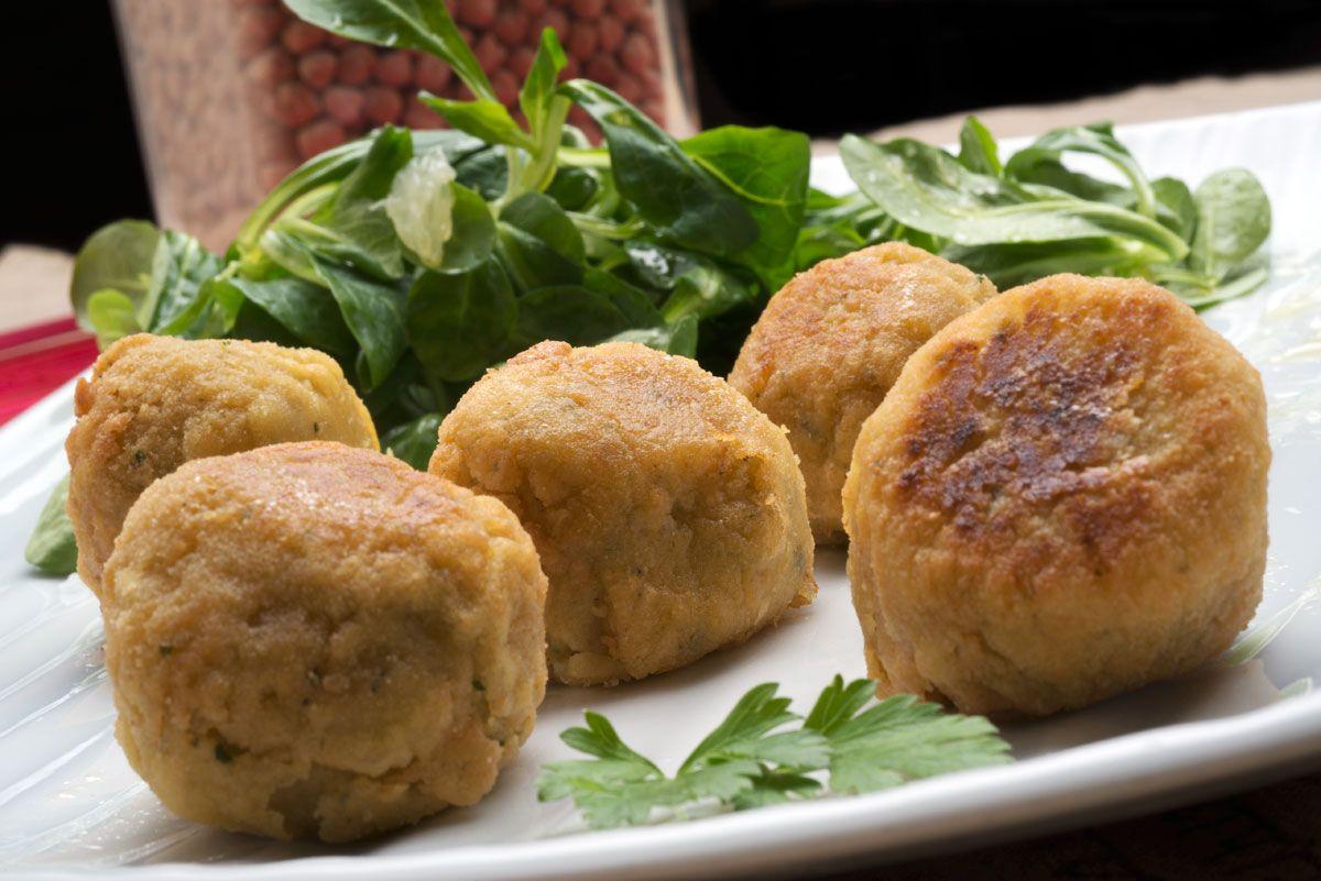 Bolitas de garbanzos o falafel
