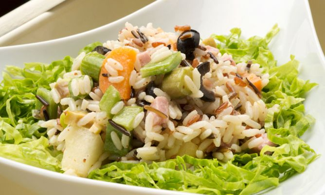 Receta de ensalada de arroz karlos argui ano - Ensalada de arroz light ...