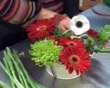centro mesa flores cumpleaños infantil paso 4