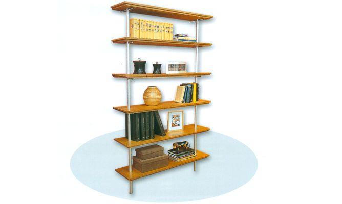 C mo hacer una estanter a de madera y metal bricoman a - Como hacer estanterias de madera ...