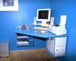 Mesa rinconera para el ordenador