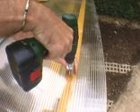 Cubierta de policarbonato para pérgola