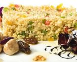 Cuscús de maíz y quinoa