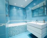 Ideas para decorar un baño azul