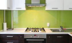 Cocinas de color verde