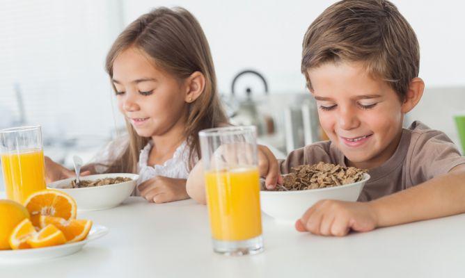 Desayuno Y Merienda Para Niños