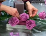 centro floral mesa vanguardia compromiso