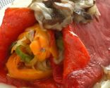 Morrones rellenos de verdura