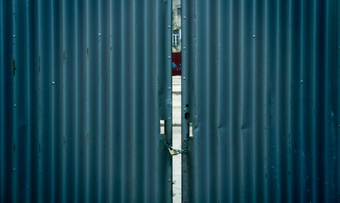 Chapa galvanizada hogarmania - Puerta chapa galvanizada ...