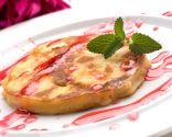 Tortitas o pancakes de manzana