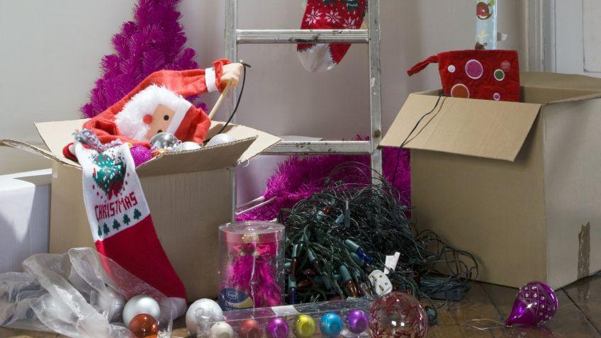 consejos para guardar la decoracin navidea