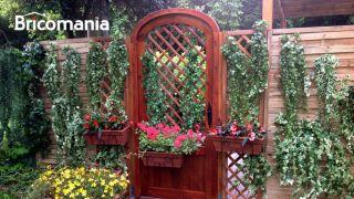 Una puerta para terraza