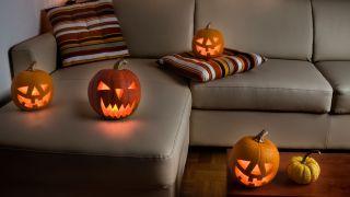 Utilizar las calabazas para decorar en Halloween