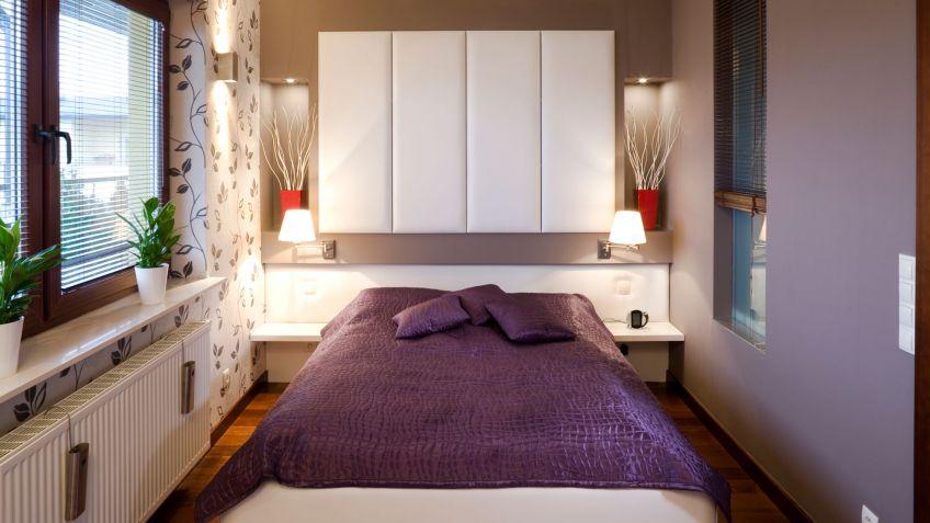 Ideas para decorar dormitorios pequeños - Hogarmania