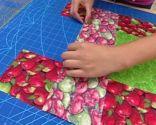 Mantel individual de patchwork