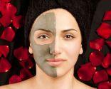 Mascarilla facial de arcilla y rosas