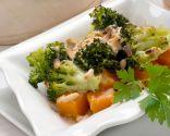 Brócoli con calabaza al horno