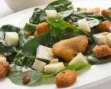 Ensalada de espinacas y pavo