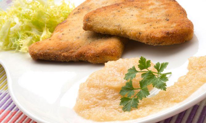 Receta de escalope de pez espada con salsa de cebolla for Pez espada en salsa de almendras