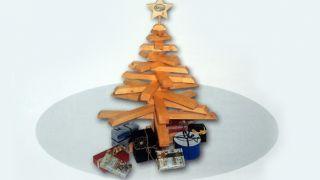 Hacer un árbol de Navidad de madera