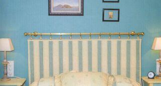 hacer un cabecero con una barra de cortina