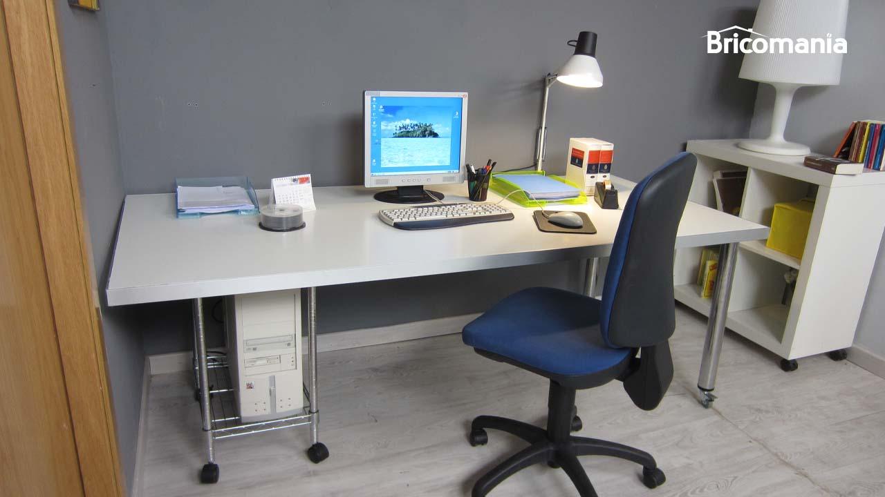 mesa escritorio diy