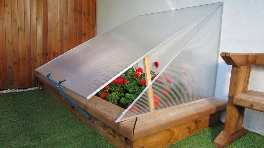como hacer invernadero pequeño