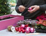 Paso 1 - Crear un centro de mesa con una caja reciclada para Navidad